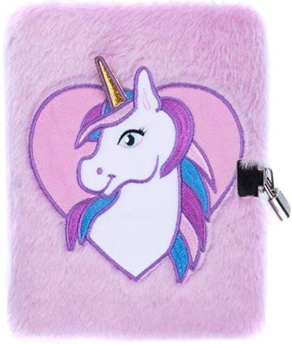 agenda con unicornio