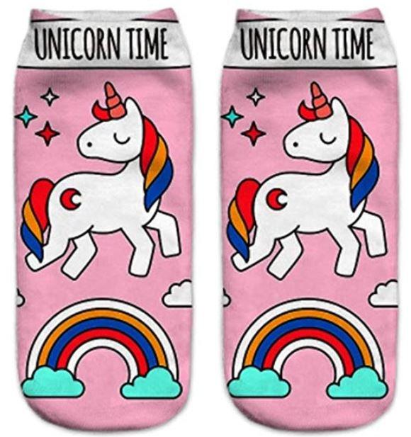 calcetines con unicornios