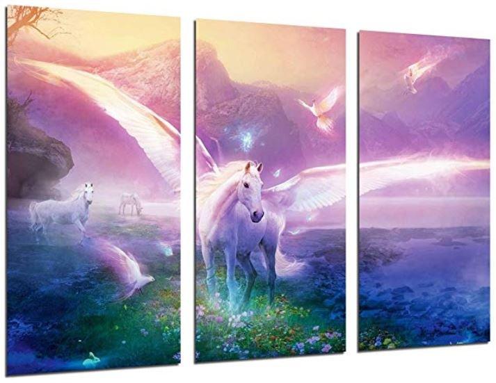 cuadros bonitos de unicornio