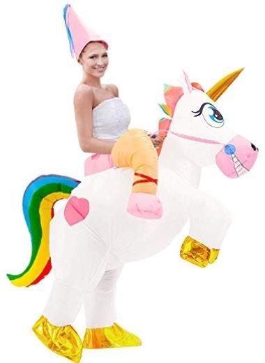 disfraz de unicornios