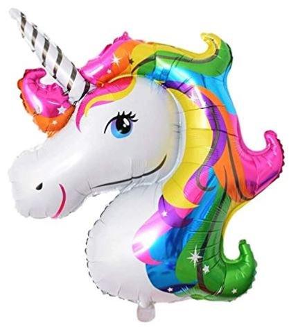 globos con unicornios