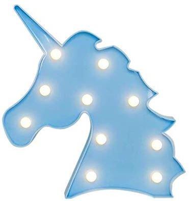 lamparas con forma de unicornio