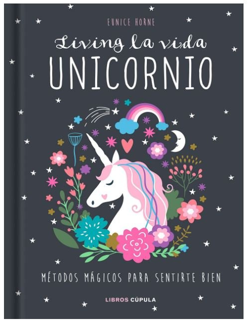 libro con unicornios