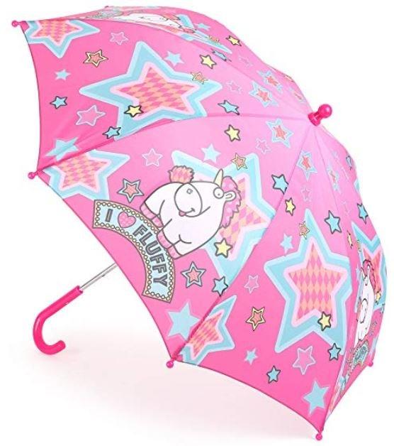 paraguas con unicornio