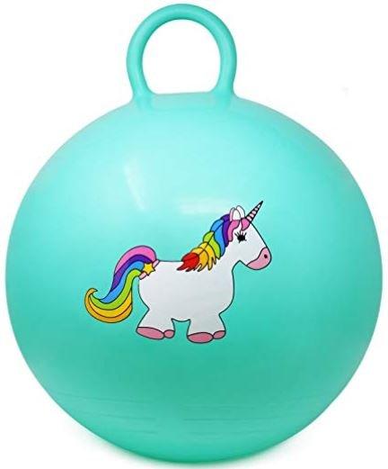 pelotas con unicornios