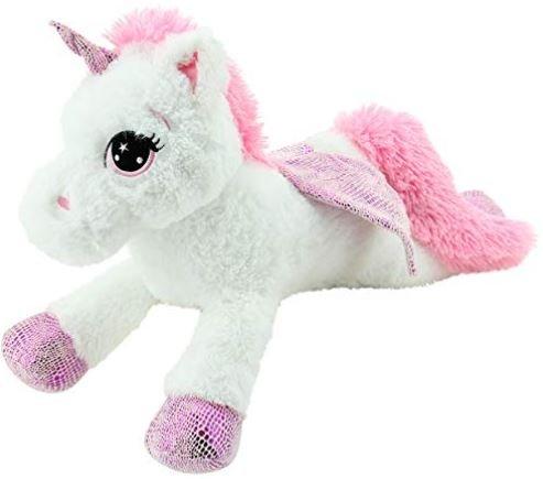 peluche con forma de unicornio