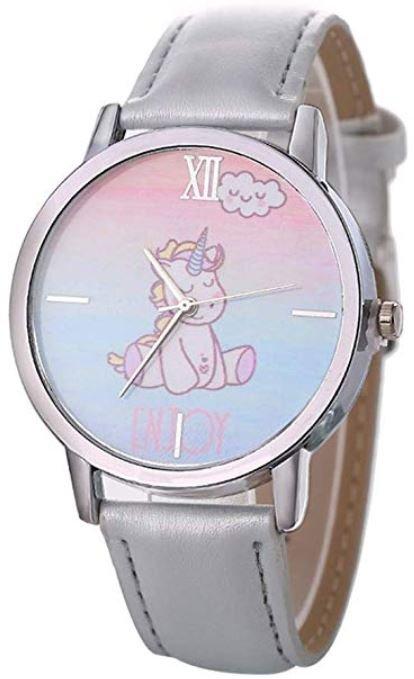 reloj con un unicornio