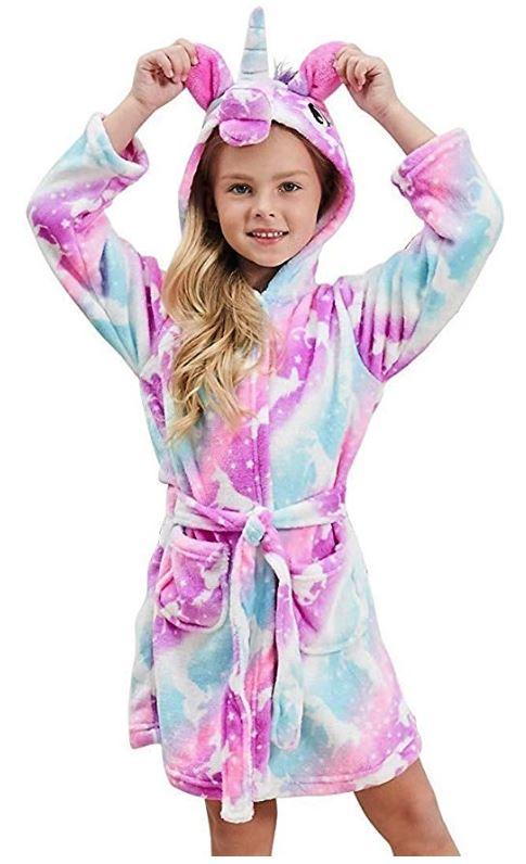 albornoz toalla unicornio niña