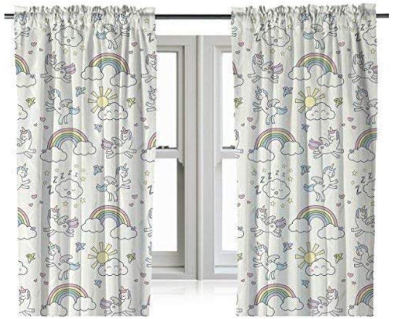 cortinas unicornio leroy merlin