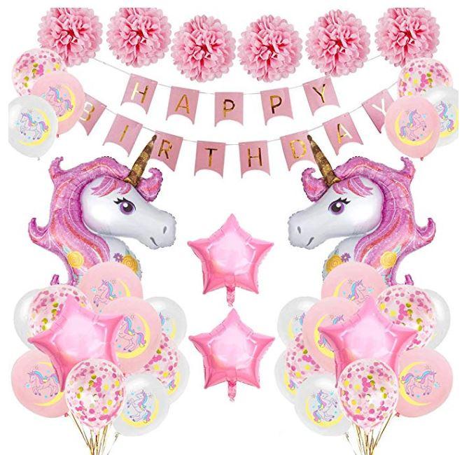 decoraciones de unicornios para niñas