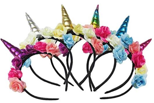 diademas de unicornio amazon