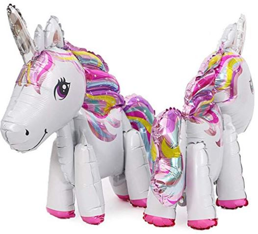 globos de unicornio en amazon
