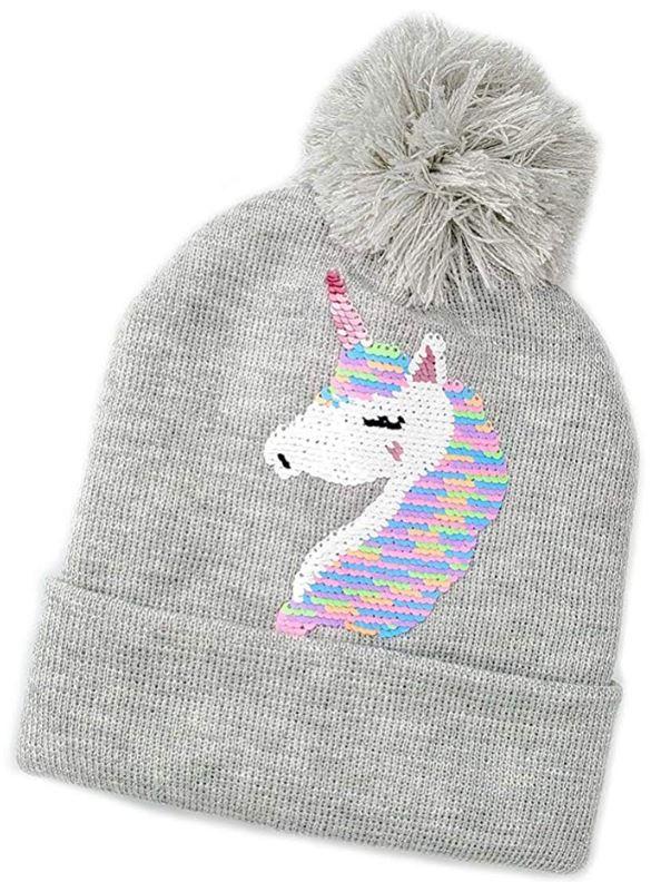 gorra de unicornio a crochet