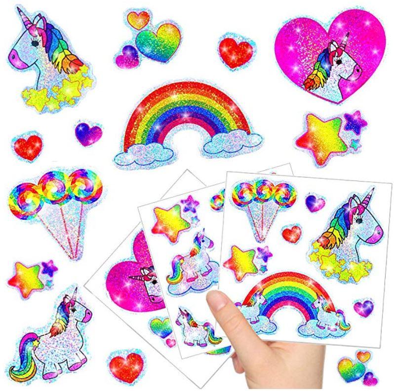 stickers de unicornio para cumpleaños