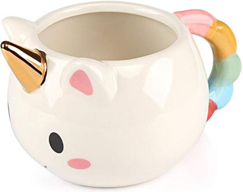 tazas de unicornio ceramica